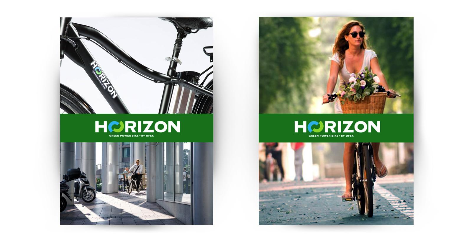- HORIZON – צילומי קמפיין למותג האופניים החשמליות, מהראשונים בארץ. הצילום התקיים בסטודיו וברחובות תל אביב.