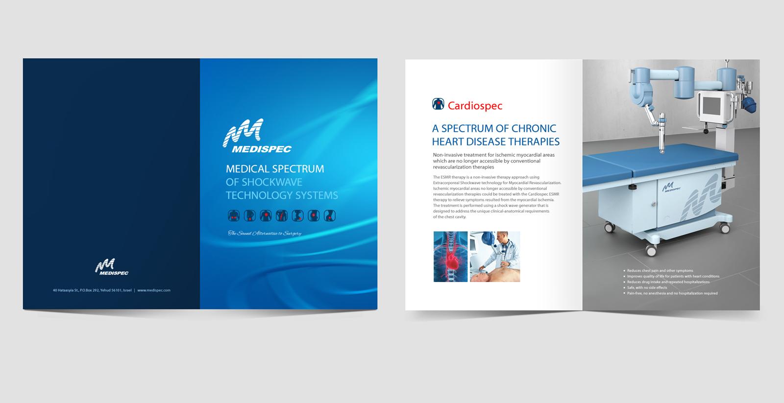- MEDISPEC - צילומי קמפיין לחברת ציוד רפואי – צילום קטלוג וצילום לאתר הבית של החברה