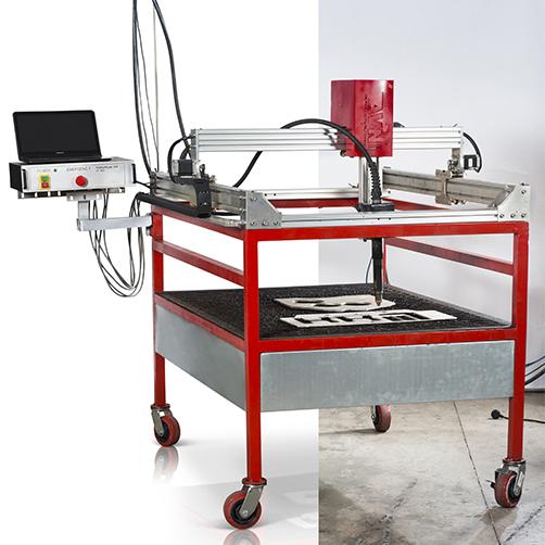 סדנה לבניית מכונות חיתוך ו CNC